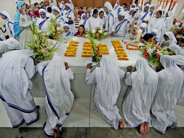 Special prayers mark Mother Teresa's death anniversary