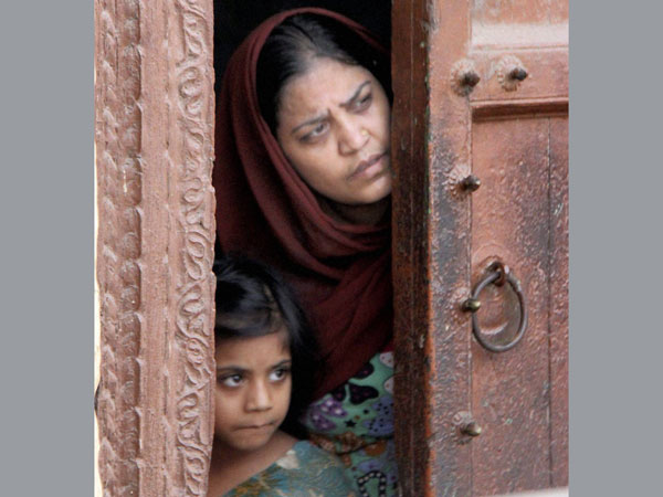 A scary mother and daughter in riot-hit Muzaffarnagar