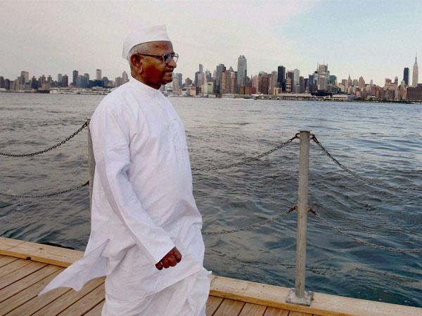 Anna Hazare threatens to fast