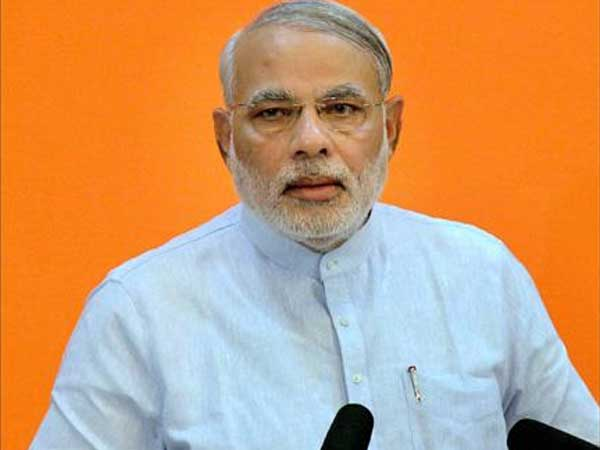 Narendra Modi heads to Delhi for meeting