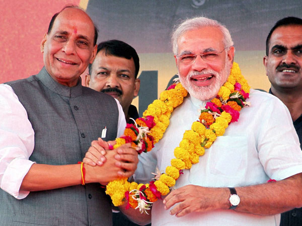 Narendra Modi and Rajnath Singh