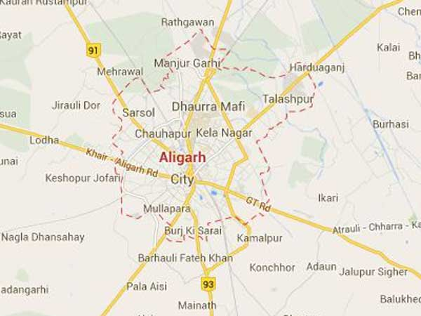 Tension grips Aligarh