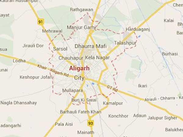 Tension grips Aligarh
