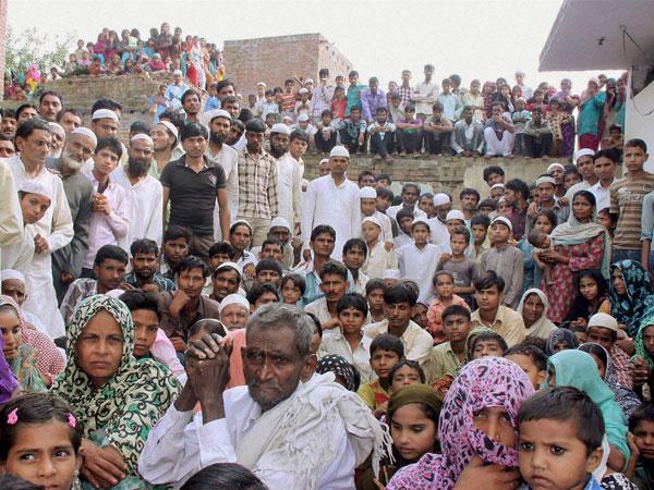 Muzaffarnagar riot victims