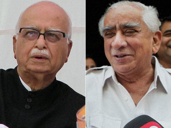 Jaswant Singh meets sulking LK Advani