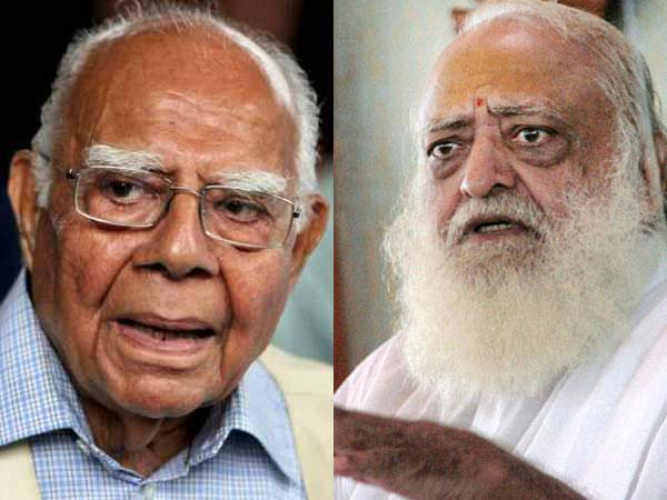 Ram Jethmalani and Asaram Bapu