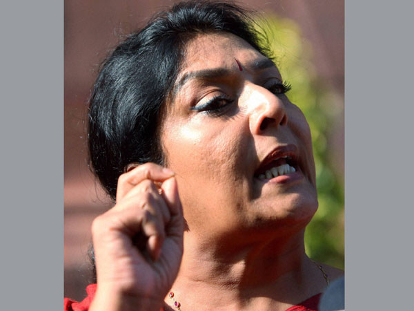 Renuka left red-face after being avoided