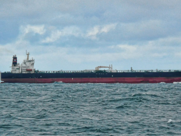 Oil tanker detained in Iran reaches home