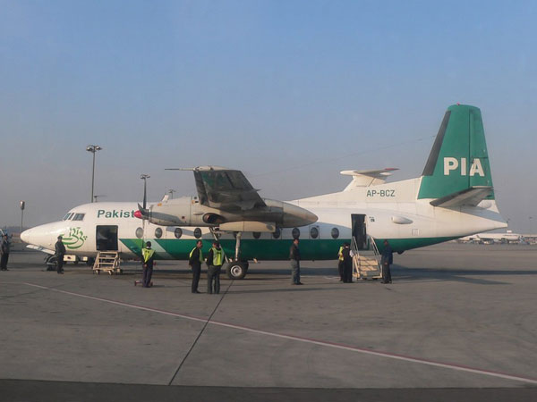 Three Pakistani air hostesses held in UK