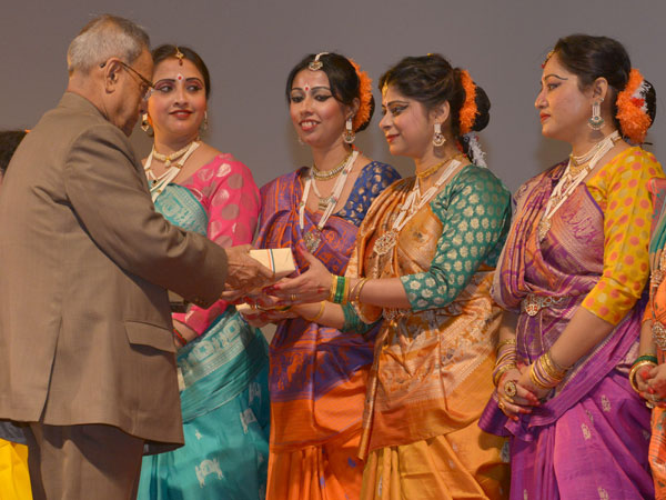 An honour for the dancers