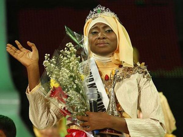 Nigerian girl wins 'Miss World Muslimah'