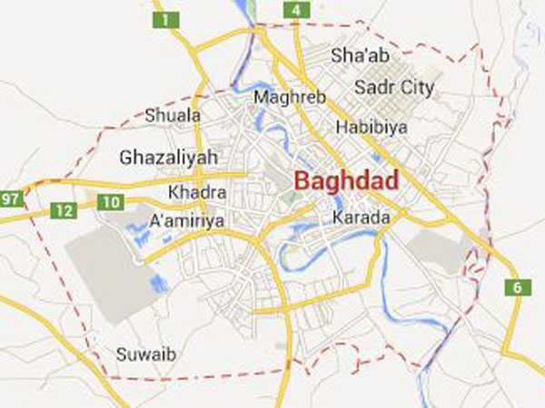 Bombs rip across Baghdad killing 20