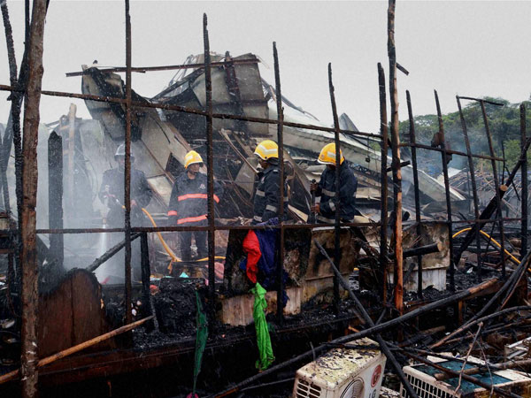 Mumbai: Fire breaks out at Film City