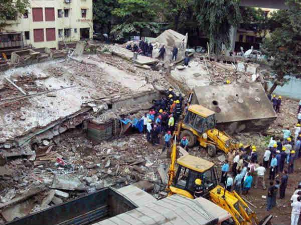 Five-storey building collapses in Mumbai, 13 killed