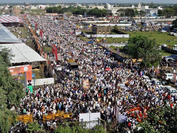 BJP Bhopal rally