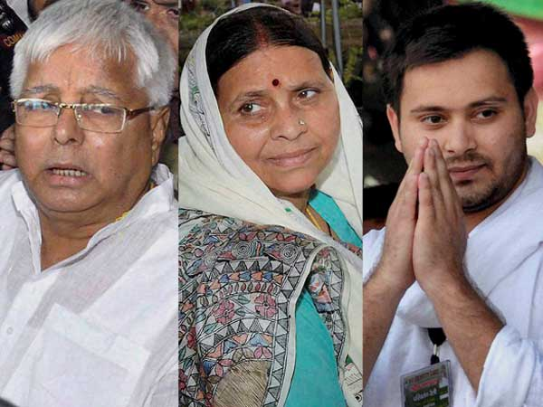 Lalu in jail, wife-son compete for power