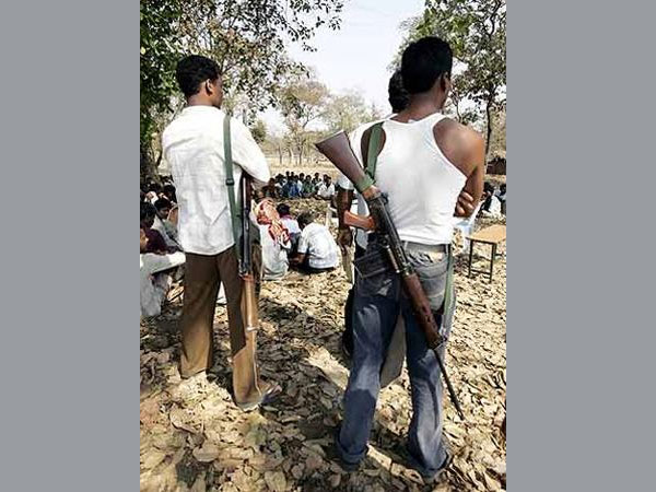 Naxals torch NMDC conveyor belt