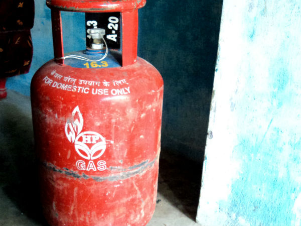 LPG Cylinders available at petrol pumps
