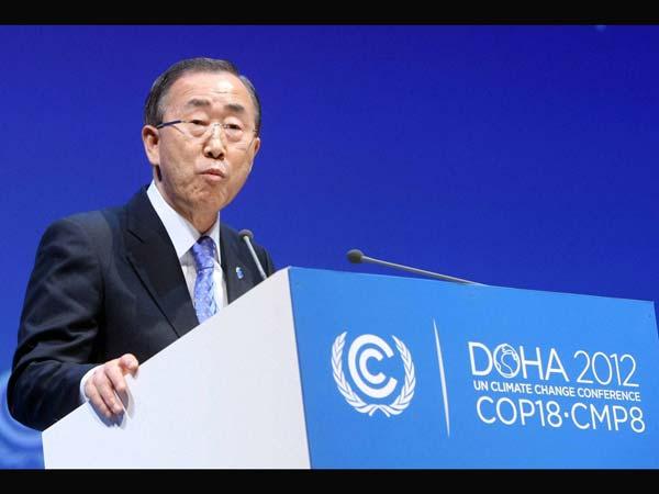 UN chief welcomes statement on Syria