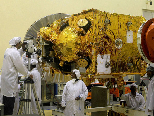 Mars spacecraft shipped out of Bangalore