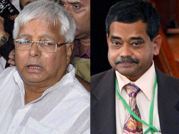 Lalu in jail,gets surprise from Prez son