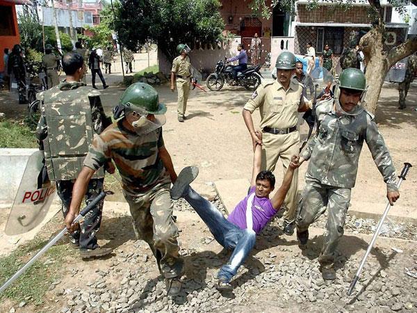 AP: Curfew continues in Vizianagaram
