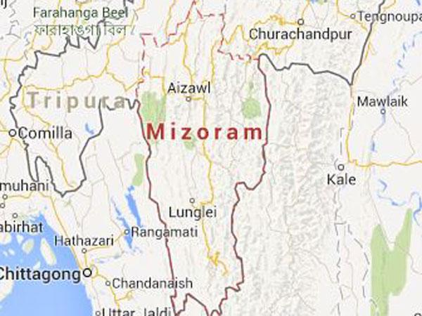 EC official visits Mizo-Tripura border