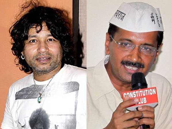 Kailash Kher lends support AAP