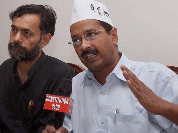 New Delhi: Arvind Kejriwal to be Aam Aadmi Party's CM candidate