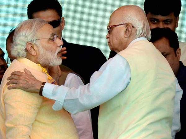 Narendra Modi-LK Advani