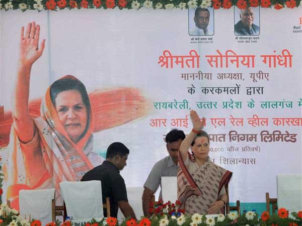 "Sonia Gandhi in a ""beemar"" state?"