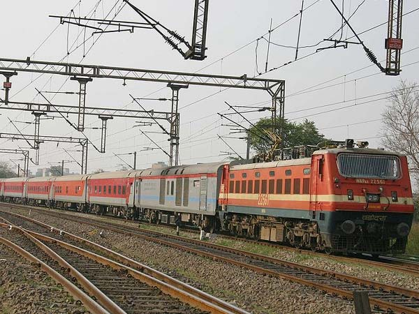 File photo of a Rajdhani Express