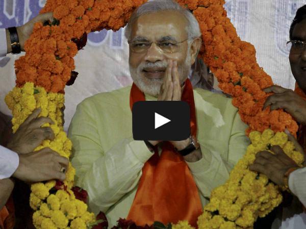 Modi Live video