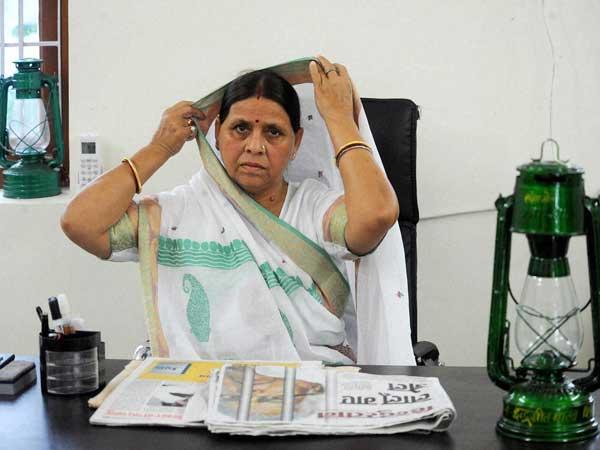 Rabri Devi lashes at Nitish Kumar