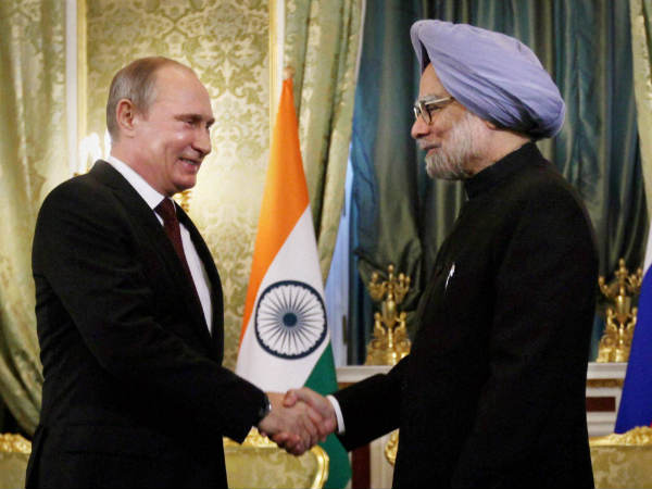 Manmohan and Putin