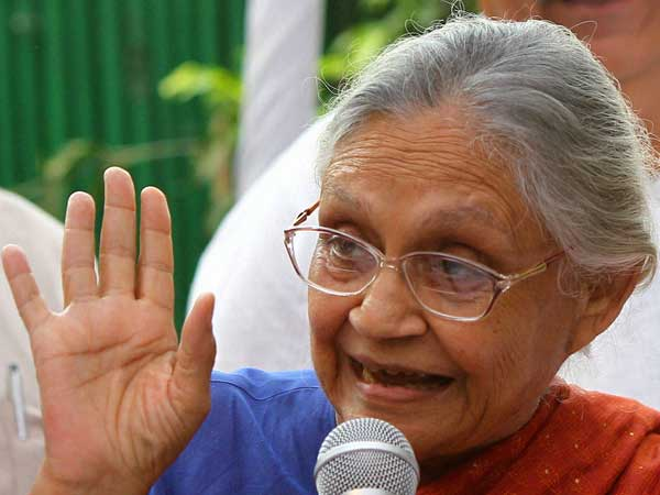 Sheila Dikshit boasts about Delhi