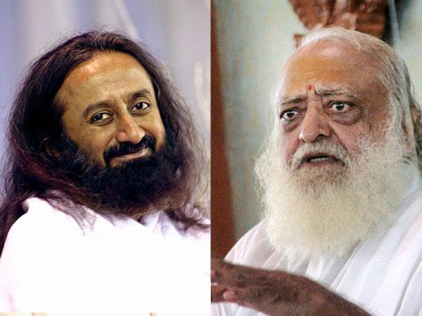 Sri Sri Ravi Shankar and Asaram