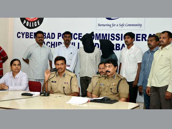Andhra techie raped, two arrested