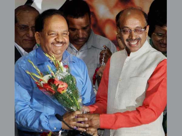 Happy with BJP's decision to nominate Vardhan: Goel
