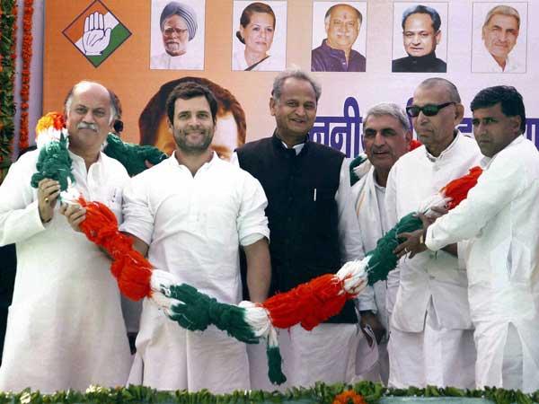 Rahul Gandhi in Rajasthan