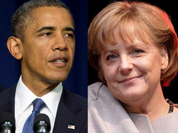 'Merkel's phone not being monitored'