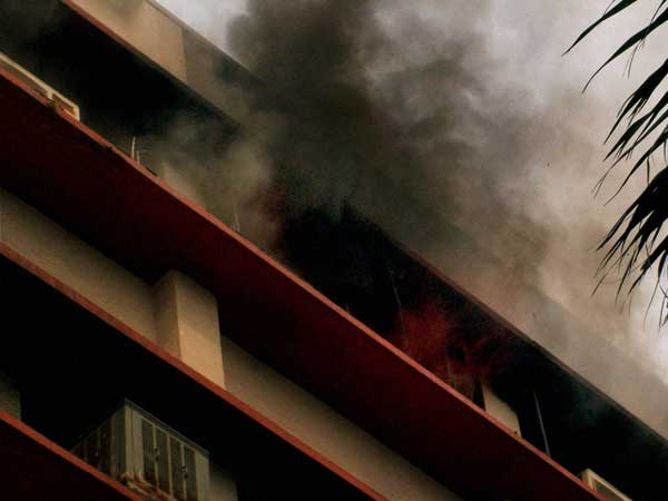 Delhi: Fire breaks out in AGCR building
