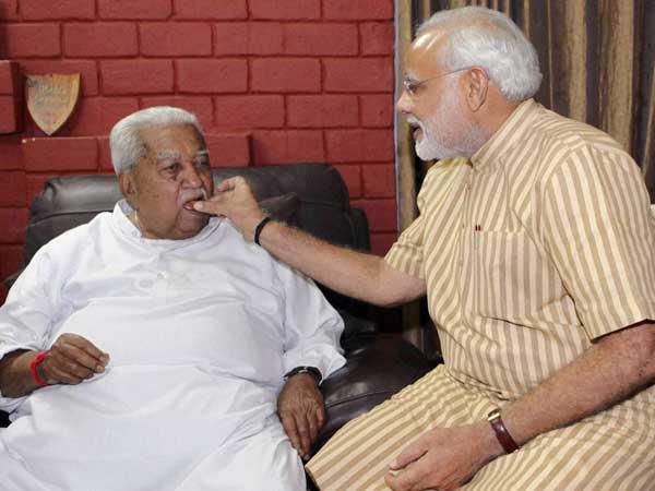 Modi aims to better Keshubhai's record