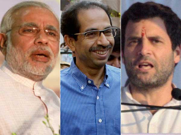 Modi, Thackeray and Rahul