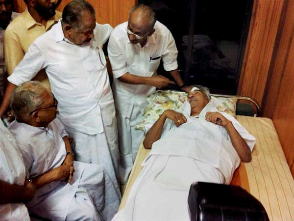 Kerala CM injured in Kannur protest