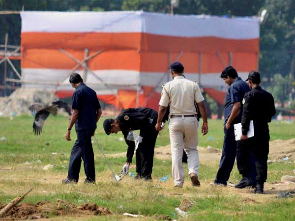 Patna: Another live bomb found