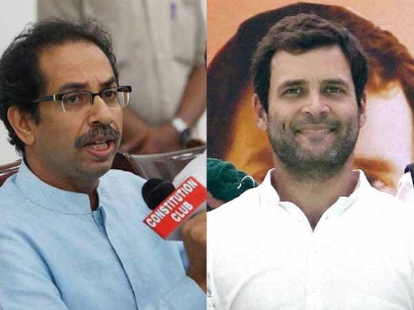 Shiv Sena supports Rahul Gandhi