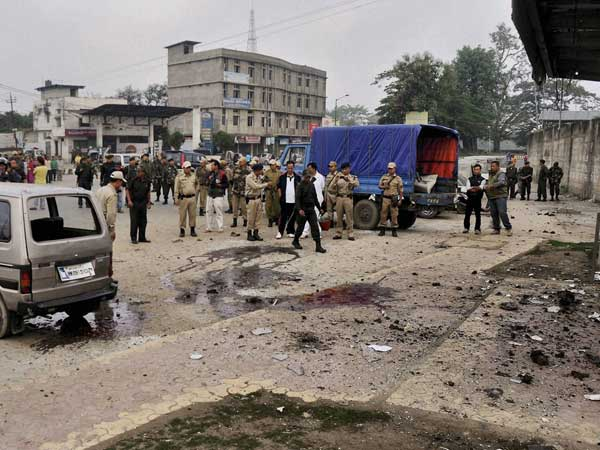 Two killed in bomb blast in Manipur