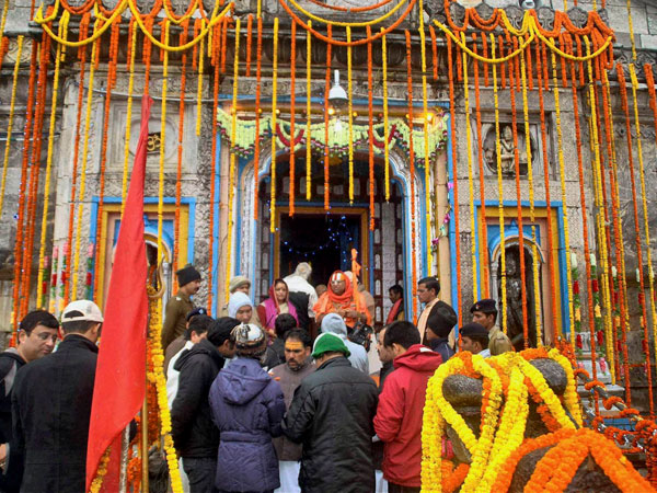 Change in river route for Kedarnath?
