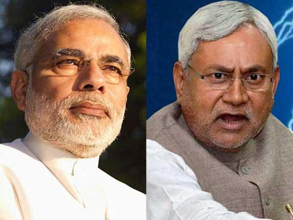 Nitish mocks Modi, yet again